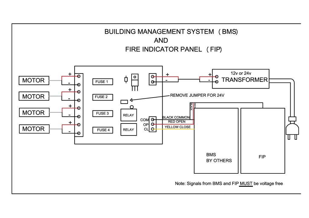 Wiring Instructions – Unique Window Services