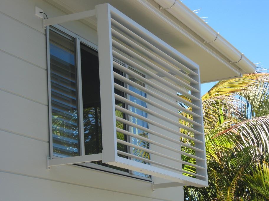 Solar Louvres, solar automated windows