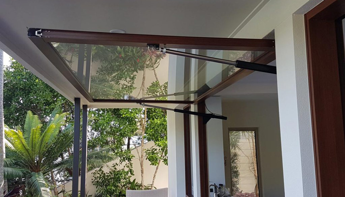 Electric Servery Window